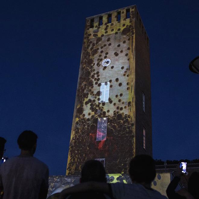 Trasmutazioni Urbane - Pomezia Light Festival 2017