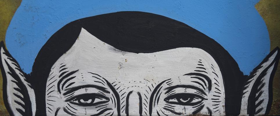 Andrea Casciu - Street art a Melizzano, Italy, 2018