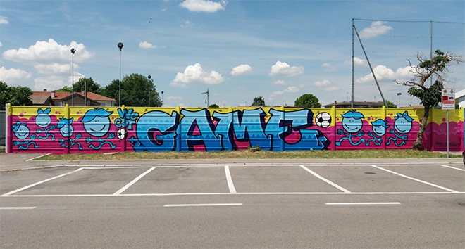 Centocanesio - We got game, campo sportivo di Villadose