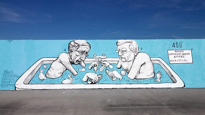 Collettivo FX - Vedo a colori, street art nel porto di Civitanova Marche