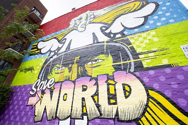"D*Face + Kaspersky Lab – ""Save The World"""