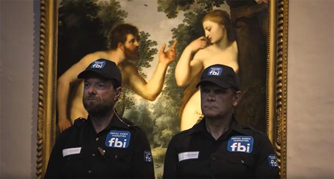 Facebook censura Rubens