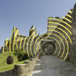 Felice Varini – Arte pubblica a Carcassonne