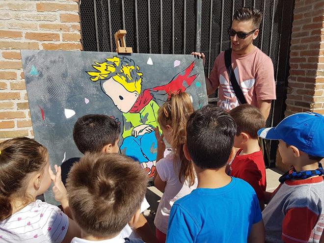 Loreo - Street art a scuola