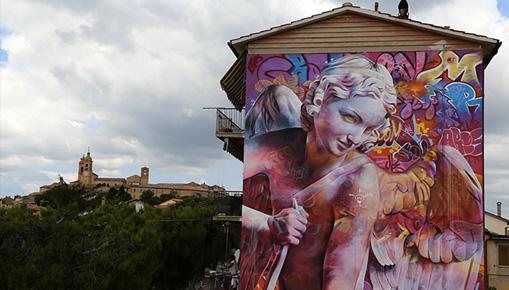 Pichi & Avo - Cupido & Graffiti, Montecosaro, Italy, 2018