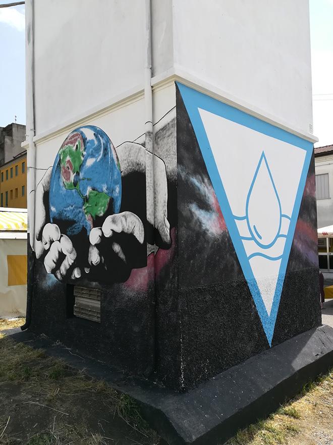 Riccardo Buonafede - Cabina elettrica, Lendinara