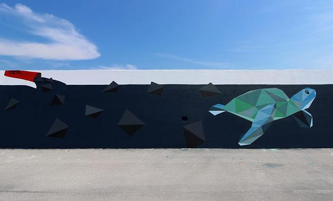 Riccardo Ten Colombo - Vedo a colori, Street Art nel porto di Civitanova Marche