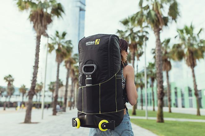 Atlas Sabbatical – Lo zaino ibrido (backpack + trolley)