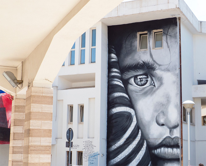 Antonino Perrotta - OSA17, murale a Diamante (CS), 2017
