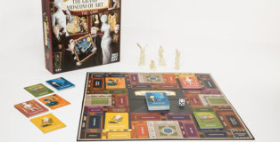 The Grand Museum of Art - Board Game. Photo: Stéphane Bourgeois
