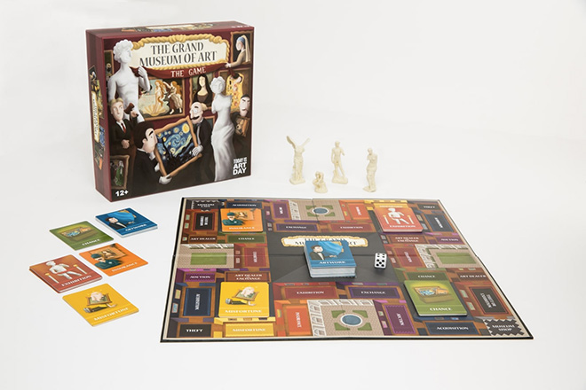 The Grand Museum of Art – Board Game