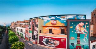 Zed1 - Un viaggio per le stelle, Montegranaro (FM) per Veregra Street Festival, 2018