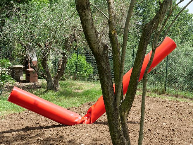 Alberto Timossi - Flusso, Sculture in campo, Un Parco per la Scultura Contemporanea, Bassano in Teverina (VT)