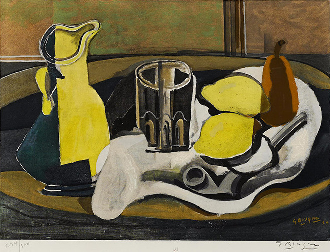 Georges Braque – La nascita del Cubismo, capolavori grafici