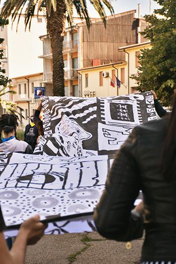Guerrilla Spam - Festival della Resilienza, Macomer (NU), 2018. photo credit: Ilaria Giorgi