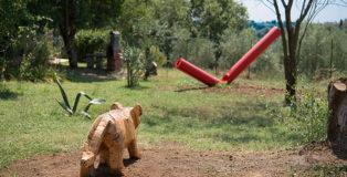 Luigi Puxeddu - Tigre, Sculture in campo, Un Parco per la Scultura Contemporanea, Bassano in Teverina (VT)