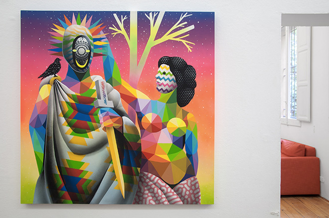 Okuda - Smile Crowning. Surreal Irreverence, MAGMA gallery