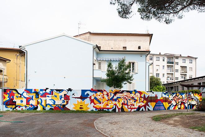 IMOS, BEAST e 2OLD - Dormitorio di via Conte Fazio, Start Festival - Welcome to Pisa. photo credit: Carlo Regoli