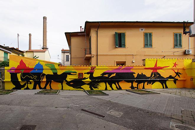 Aris - Scuola Biagi, Start Festival - Welcome to Pisa. photo credit: Carlo Regoli