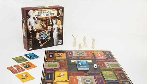 The Grand Museum of Art - Board Game