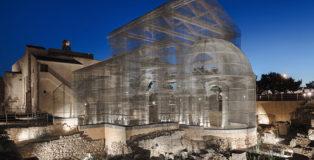 Edoardo Tresoldi - Basilica di Siponto. photo credit: Roberto Conte