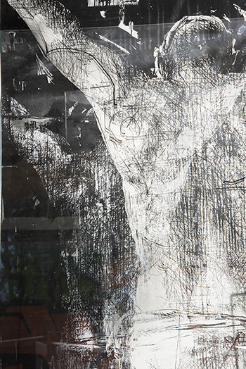 Gonzalo Borondo - N̶O̶N̶ PLUS ULTRA, print proof 1. photo credit: Federico Pestilli