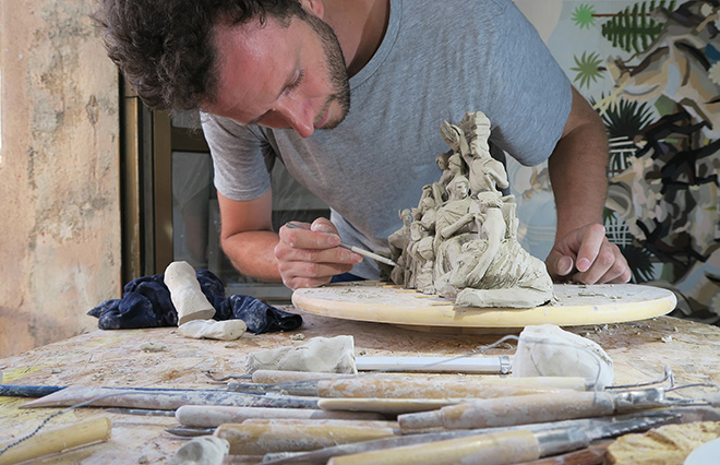 Franco Fasoli, JAZ - Work in progress of Escultura Argentina, 2018