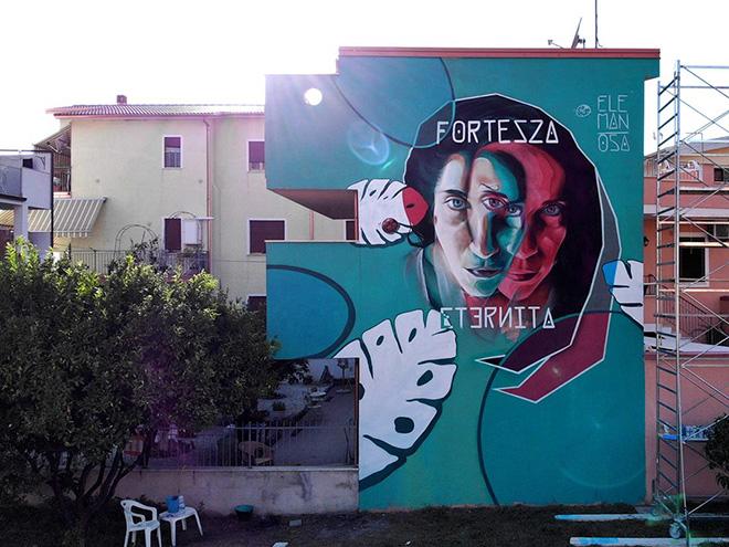 Ele Man - OSA 2018, Operazione Street Art a Diamante. photo credit: Francesco Garritano