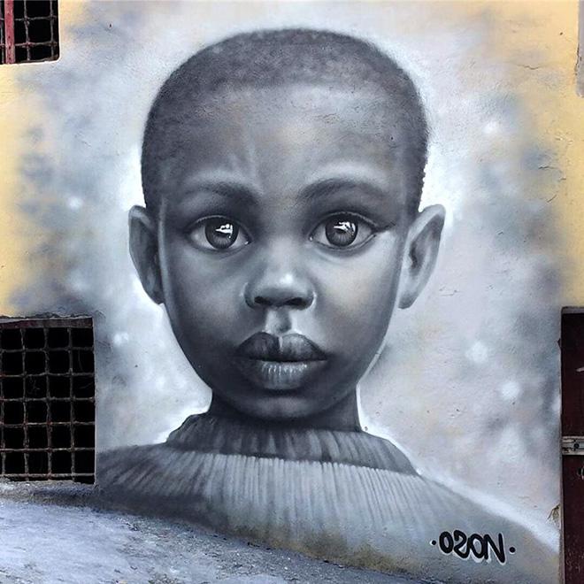 Lino Ozon - OSA 2018, Operazione Street Art a Diamante