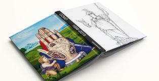 OZMO, 1998-2018 - Libro Monografico. Graffiti, street art, paintings. Evoluzione di un artista. Edito da: Crowdbooks Publishing. A cura di: Francesca Holsenn.