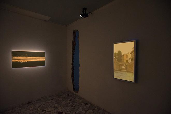 INVITATION TO A DISASTER - Matteo Montani Linea di Massima, Antonio Trimani, Risveglio a Milano, courtesy Le Stazioni Contemporary Art.