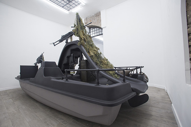 Cristiano Carotti - Installation view Stessa Spiaggia Stesso Mare, White Noise Gallery