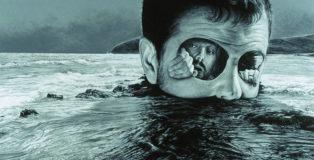 José Molina - Naufraghi nel proprio mare, 2005, matita grassa su carta, cm 49x57,2. Collezione Predatores. Photo credit: Ross&Rheal