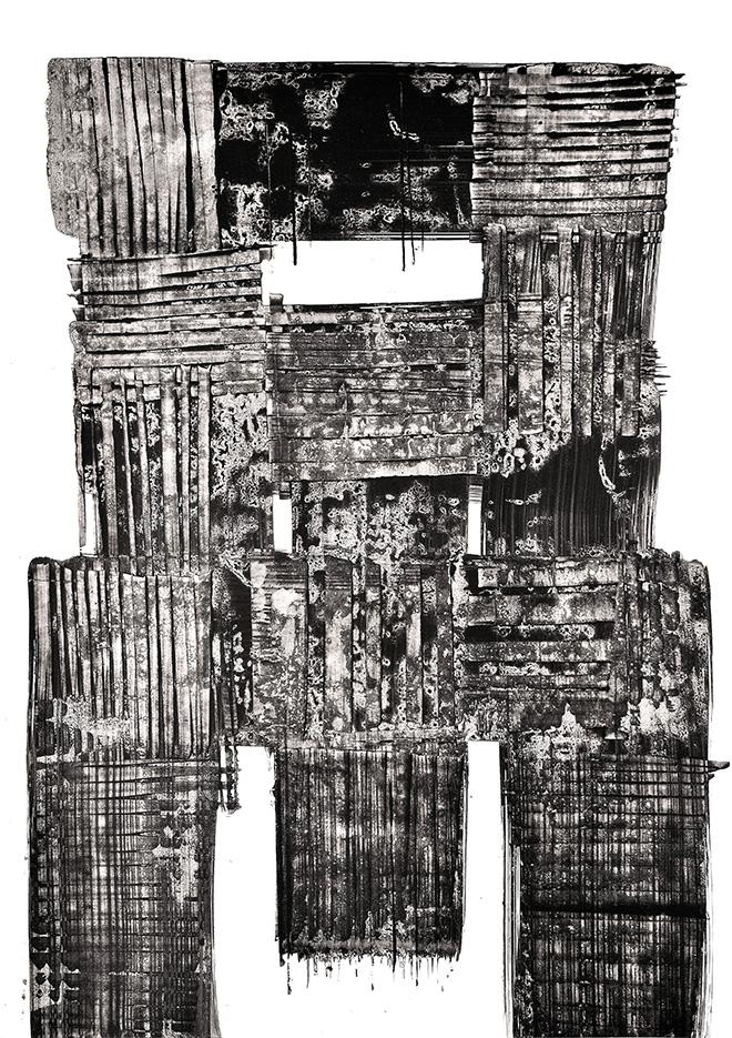 Luigi Pericle - Matri Dei d.d.d., China su carta, 1964, 60 x 42 cm