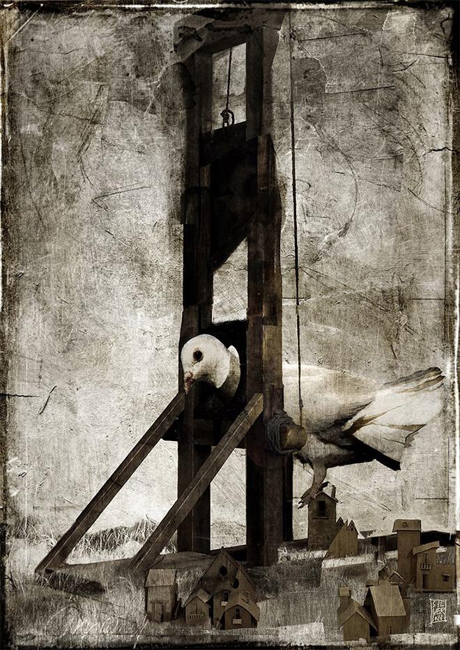 Antonello Silverini - Tavola Matite per Riace