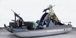 Cristiano Carotti - Seagull SS17, 165x390x220 cm, metallo, plastica, smalto, 2018
