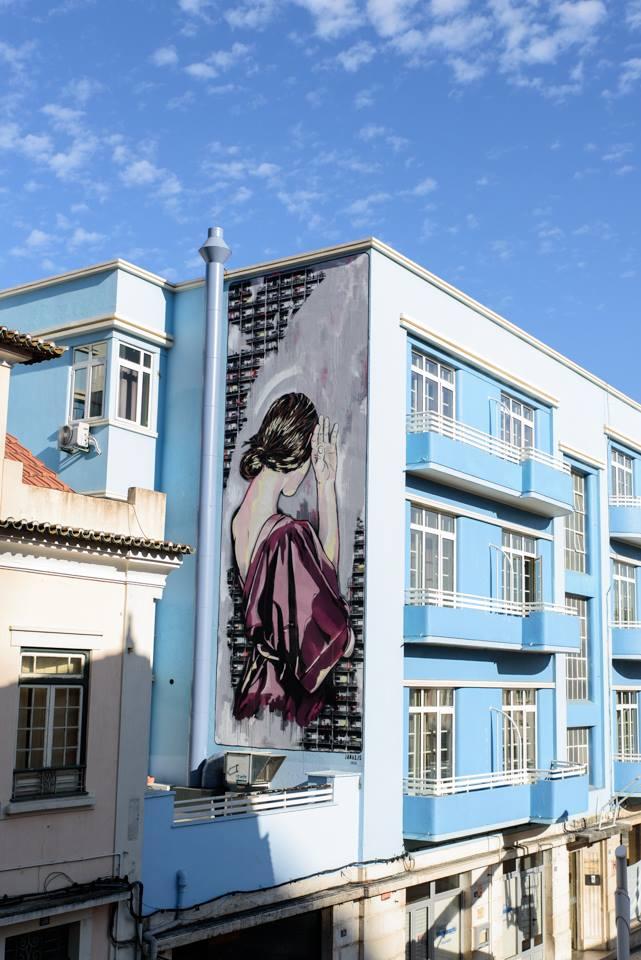 Jana & JS - Arte Pública Leiria (Portugal), 2018. photo credit: Fotograf'arte