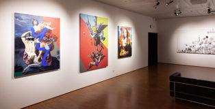 OZMO - Street Art Ways, exhibition Melano (CH)