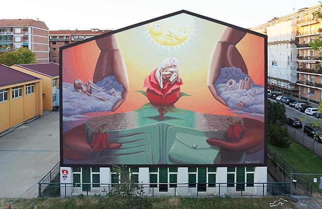 Zed1 – NO POVERTY, Torino