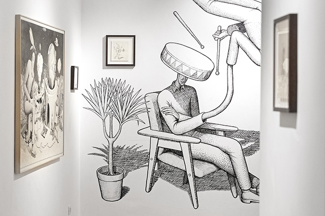 Waone (Interesni Kazki) - This art is too smart, Galleria Varsi, Roma. photo credit: @Blindeyefactory