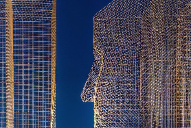 Edoardo Tresoldi - Limes, Illa Diagonal, Barcellona. photo credit: Roberto Conte