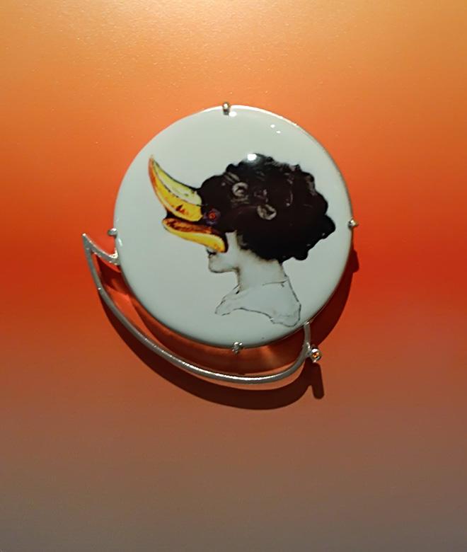 Pasquale de Sensi + Iaco Jewellery - Mara, 2018, Ceramica, Argento925, Corindone