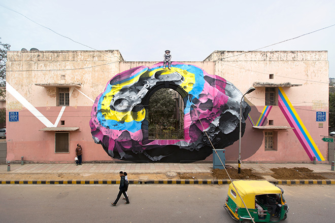 NEVERCREW - See through, See beyond, New Delhi, (India), 2016