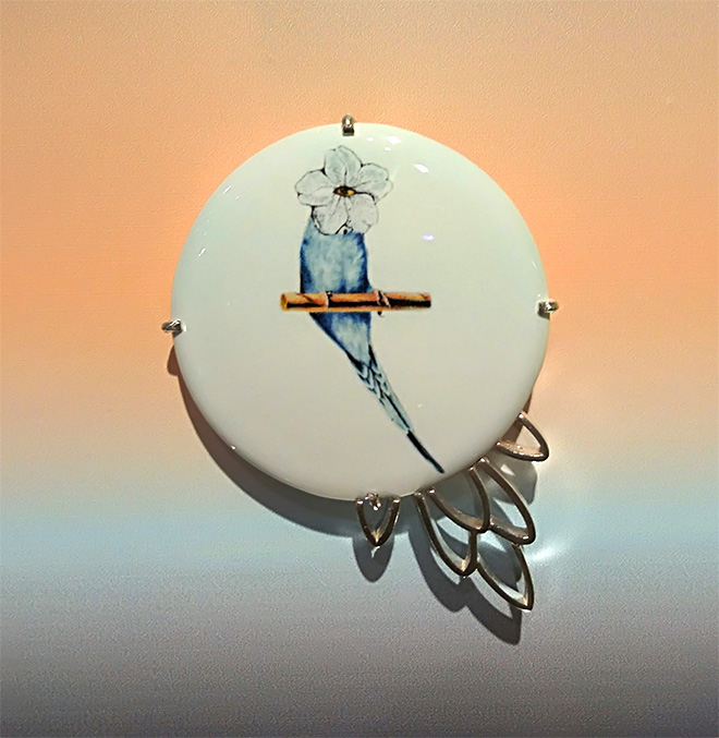 Pasquale de Sensi + Iaco Jewellery - Angel, 2018, Ceramica, Argento 925