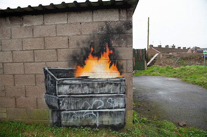 Banksy - Port Talbot (Galles)