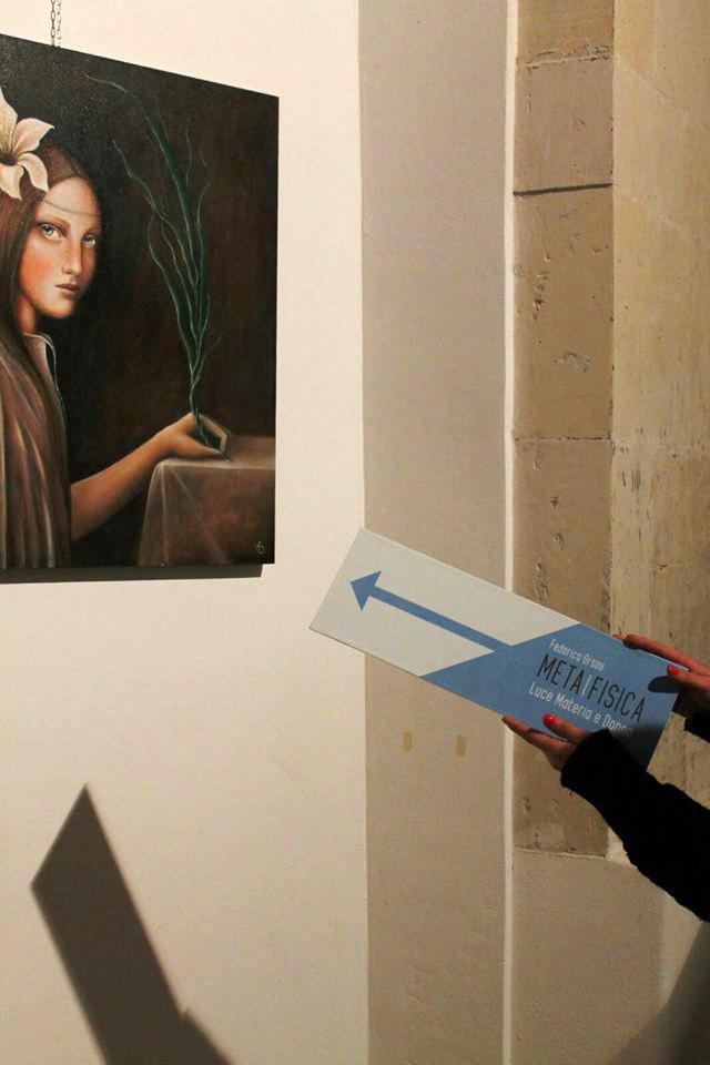 Federica Orsini - META|FISICA: luce, materia e donna. Installation view, Sala