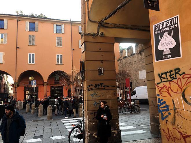 Guerrilla SPAM - La voce del popolo, Bologna