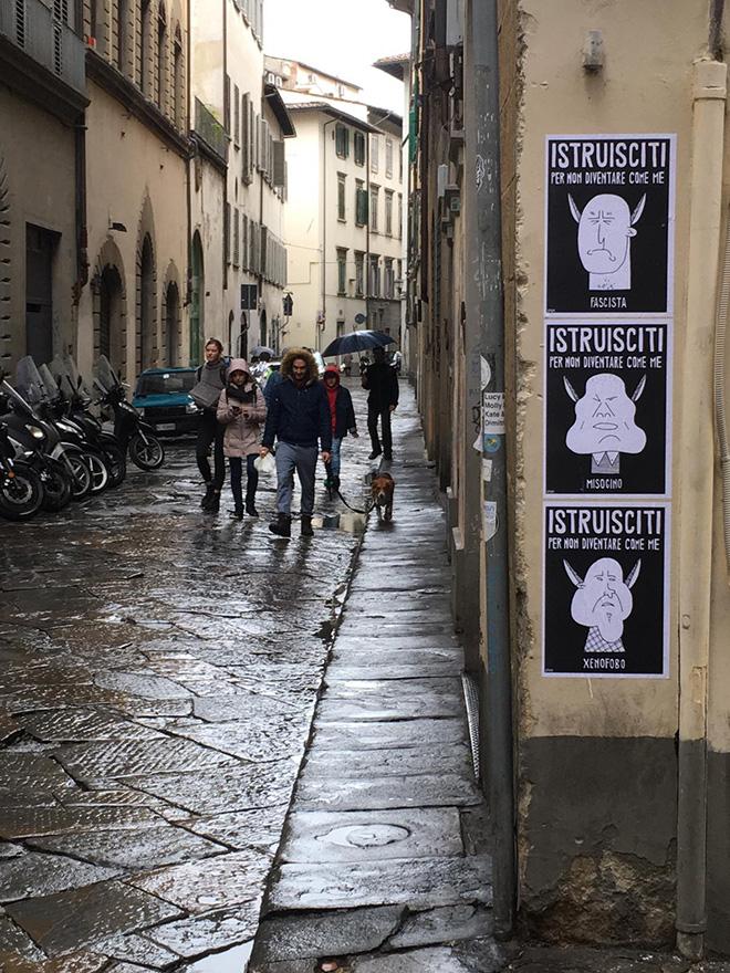 Guerrilla SPAM - La voce del popolo, Firenze
