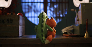 Lost & Found - Stop Motion Short Film. Still credit: Gerald Thompson, Director of Photography & Motion Control