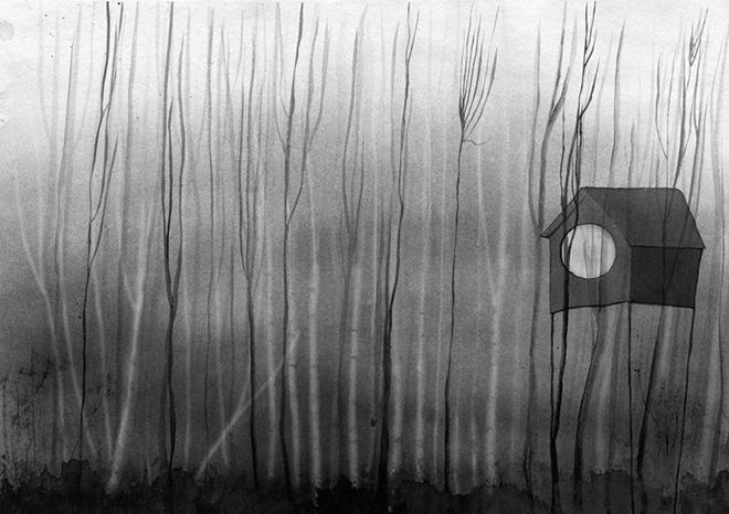 Nicoletta Guerrieri, Picaro (Spazio Creativo) - Non ci sono mai stato ma mi sembra casa, Illustrazione